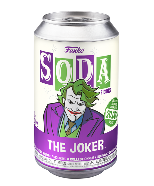 Funko Vinyl Soda: The Dark Knight - Joker