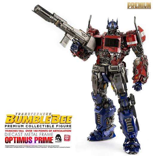 ThreeZero Transformers Optimus Prime Premium Scale Figure