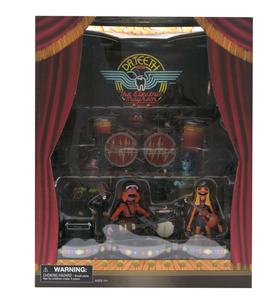 Diamond Select Toys Muppets - Dr. Teeth and the Electric Mayhem Band Deluxe Set (2020 SDCC Exclusive)