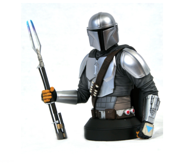 Diamond Select Toys Star Wars - The Mandalorian MK3 Beskar Armor 1/6 Scale Bust (2020 SDCC Exclusive)