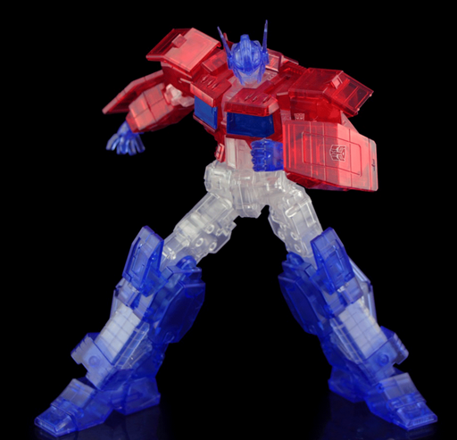 Flame Toys Transformers - Optimus Prime (IDW Clear Ver.) Furai Model Kit (2020 SDCC Exclusive)