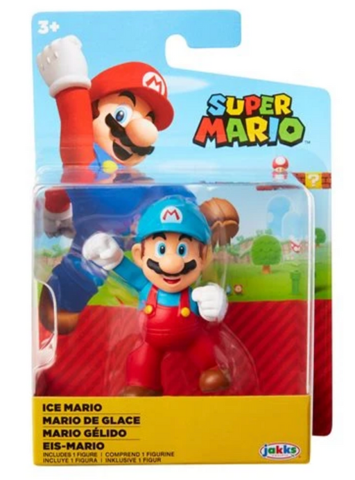 Jakks World of Nintendo: Super Mario 2-1/2 Minifigures (Wave 23) - Ice Mario