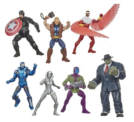 Hasbro Marvel Legends Avengers Joe Fixit Build-A-Figure Collection (Set of 6)