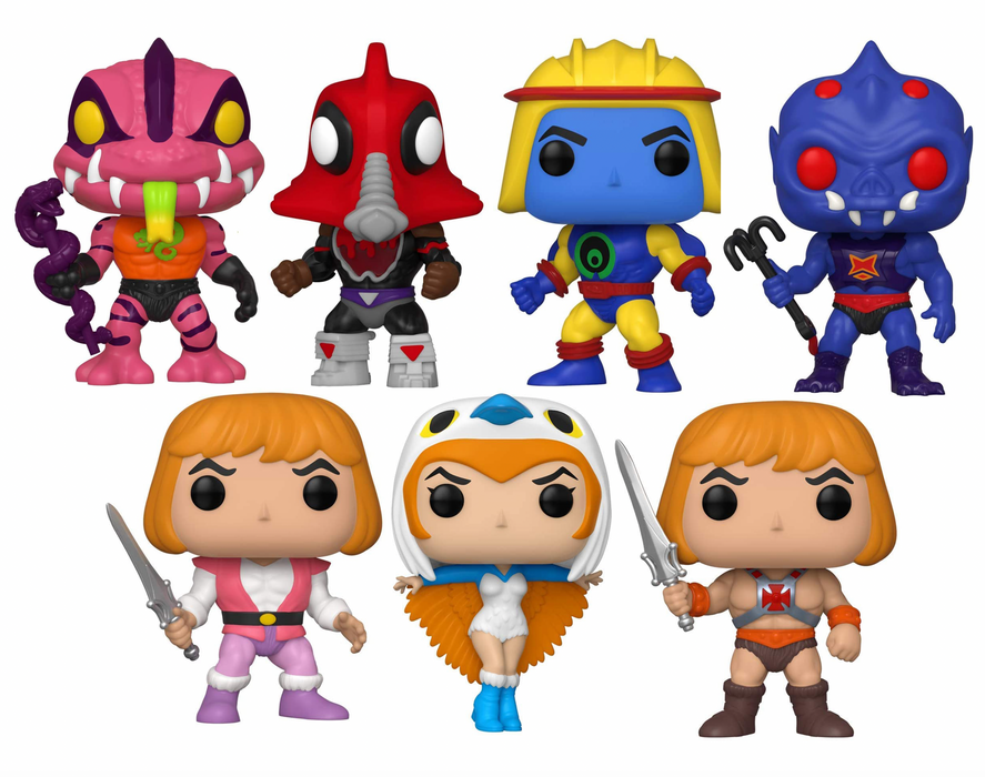 Funko Pop! Television: Masters of the Universe Series 3 (Set of 7)