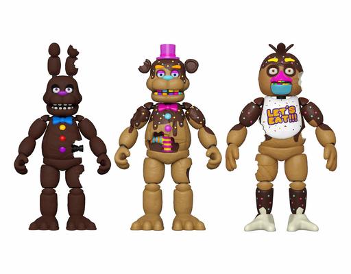Funko Five Nights at Freddys Special Delivery Chocolate Action Figures (Set of 3)