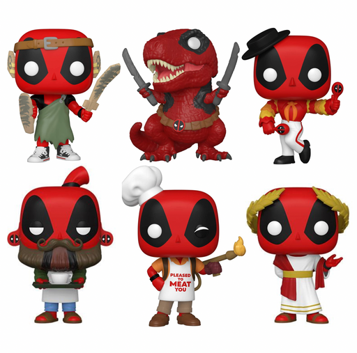 Funko Pop! Marvel: Deadpool 30th Anniversary (Set of 6)
