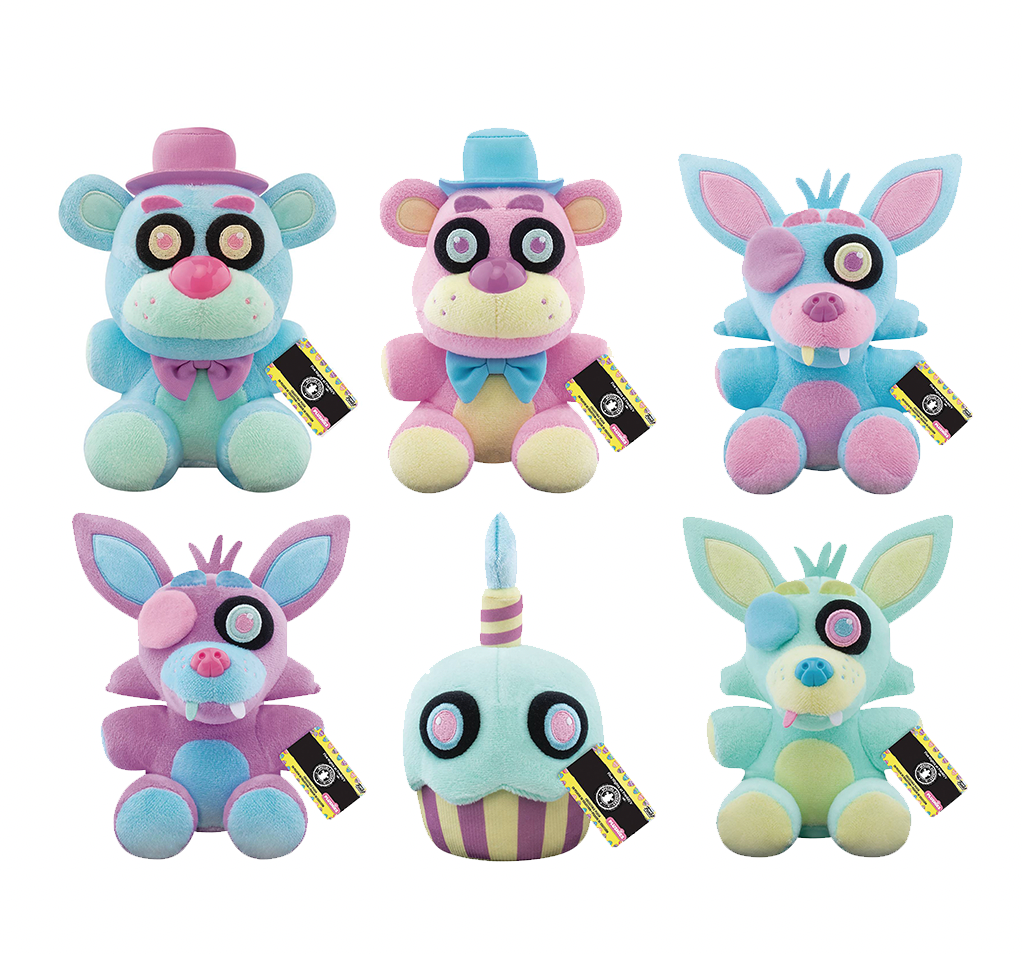 Funko Five Nights at Freddy's Plush: Special Delivery Spring Series (Set of 6)