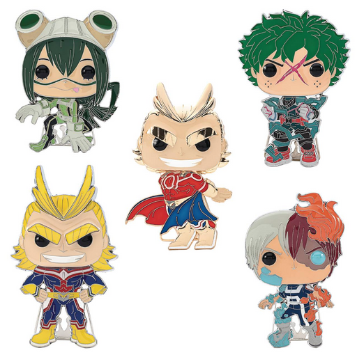 Funko Pop! Pins: My Hero Academia Series 1 Collection (Set of 5)