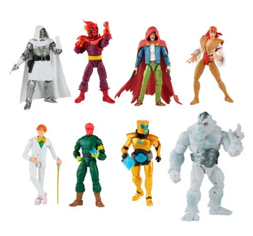 Hasbro Marvel Legends Super Villains Xemnu Build-A-Figure Collection (Set of 7)