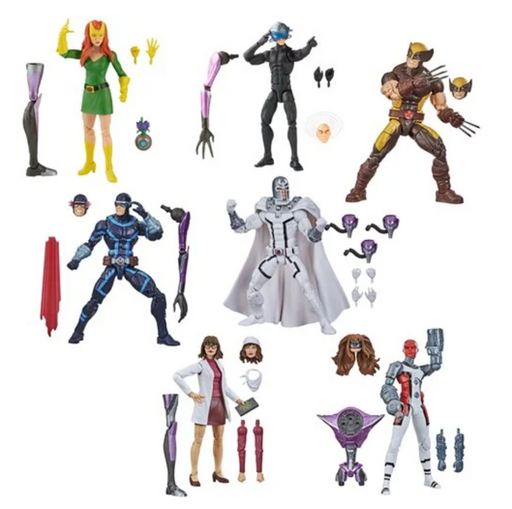 Hasbro Marvel Legends X-Men Tri-Sentinel Build-A-Figure Collection (Set of 7)