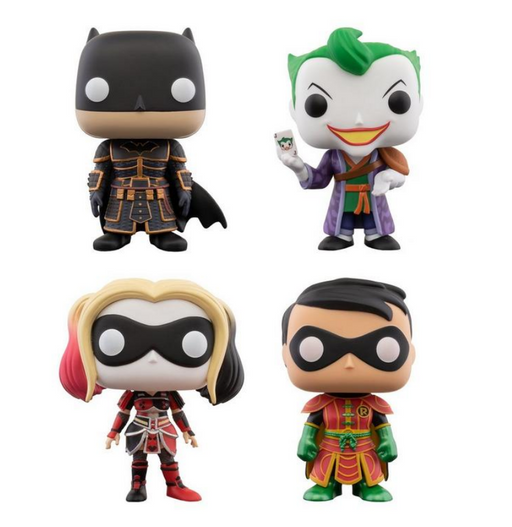 Funko Pop! Heroes: DC Comics Imperial Palace (Set of 4)