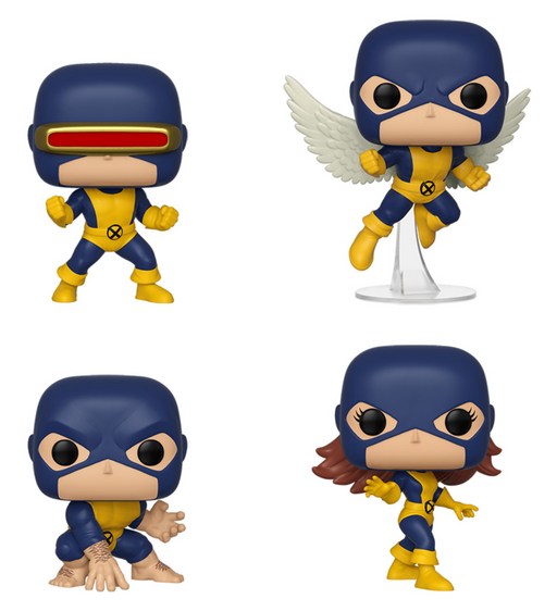 Funko Pop! Marvel: X-Men First Appearance (Set of 4)
