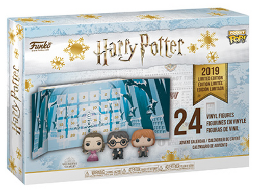 Funko Advent Calendar: Harry Potter (2019 Version) 24-piece Set