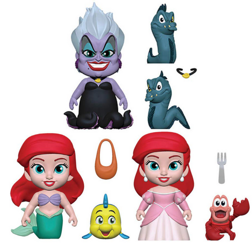Funko 5 Star: The Little Mermaid Collectible Vinyl Figures (Set of 3)