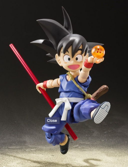 Bandai Tamashii Nations Dragon Ball: Kid Goku (Special Color Ver.) S.H. Figuarts & $25 Gift Card Bundle