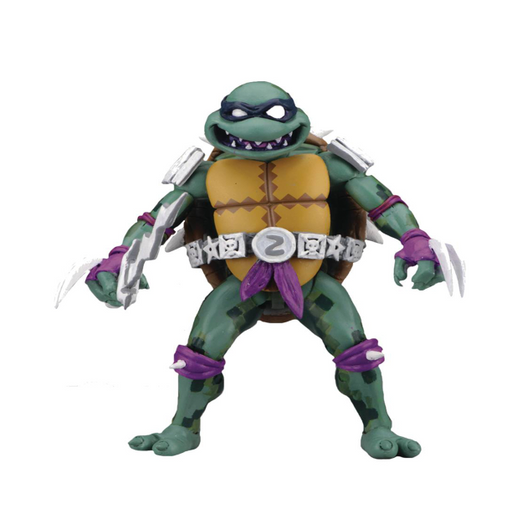 NECA TMNT: Turtles in Time 7-in Action Figure - Slash