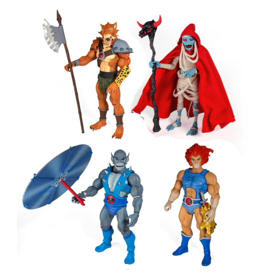 Super7 Thundercats Ultimates 7-inch Action Figure (Set of 4)