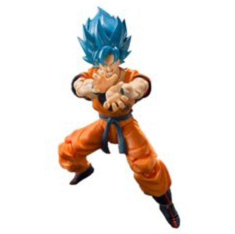 Bandai Tamashii Nations Dragon Ball - Super Saiyan Blue Goku S.H. Figuarts