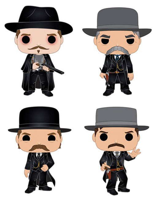 Funko Pop! Movies: Tombstone (Set of 4)
