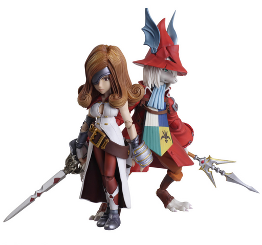 Square Enix Final Fantasy IX Bring Arts Freya & Beatrix Action Figure Set