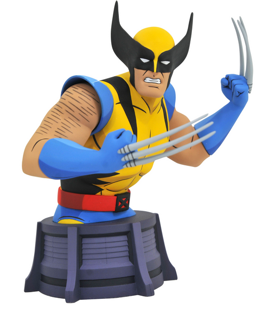Diamond Select Toys Marvel Animated Series: X-Men - Wolverine Mini Bust