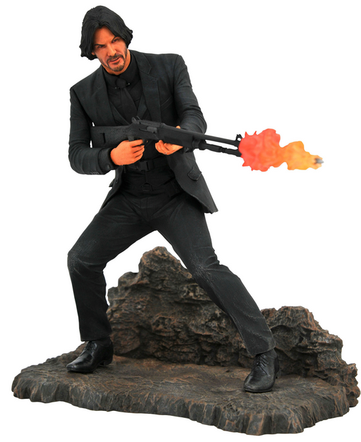 Diamond Select Gallery: John Wick (Catacombs Ver.) PVC Figure