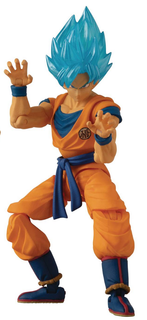 Bandai Dragon Ball Super 5-inch Action Figure - Super Saiyan Blue Goku