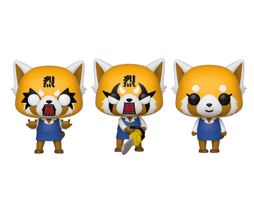 Funko Pop! Sanrio - Aggretsuko (Set of 3)