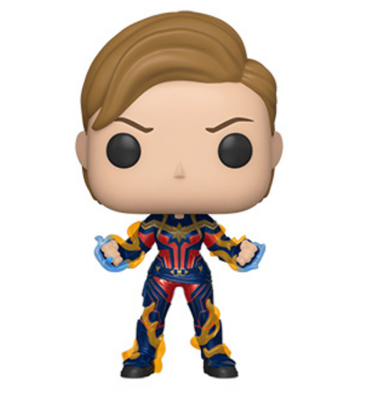 Funko Pop! Marvel: Endgame - Captain Marvel with New Haircut