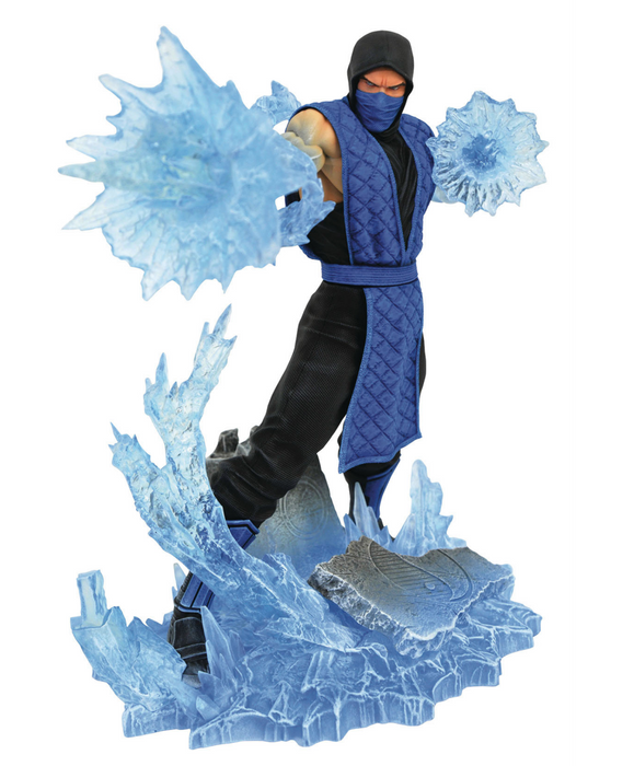 Diamond Select Gallery: Mortal Kombat - Sub-Zero PVC Diorama