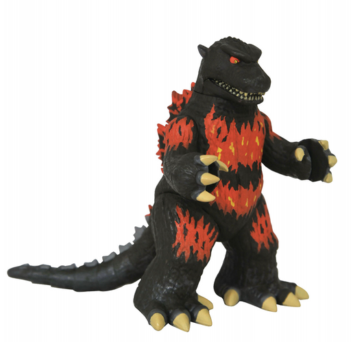 Diamond Select Toys Godzilla Vinimates Series 2 Vinyl Figures - Burning Godzilla