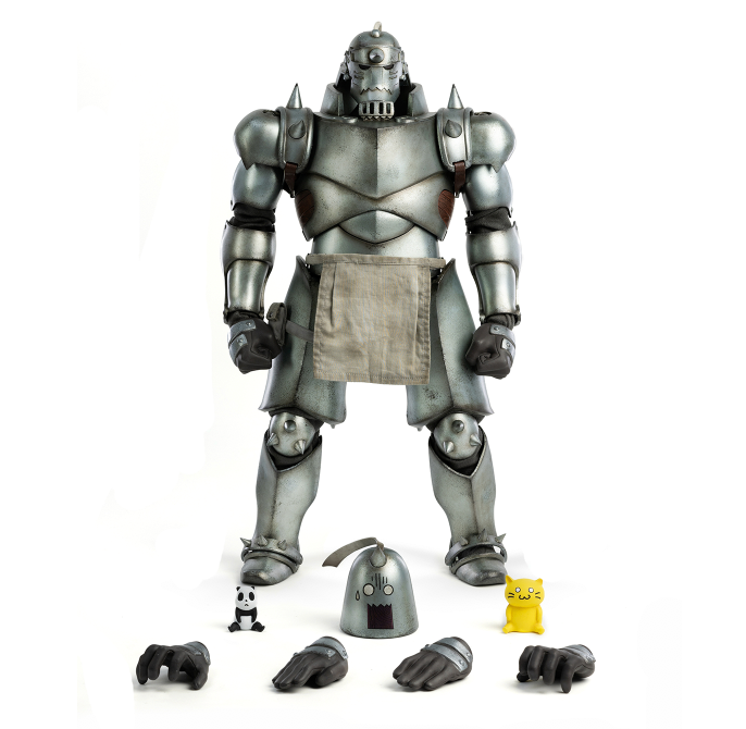 ThreeZero Fullmetal Alchemist: Brotherhood - Alphonse & Edward 1/6 Scale Figure Twin-Pack