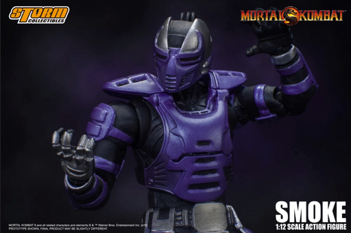 Storm Collectibles Mortal Kombat - Cyber Ninja Smoke 1/12 Scale Action Figure (2019 NYCC Exclusive)
