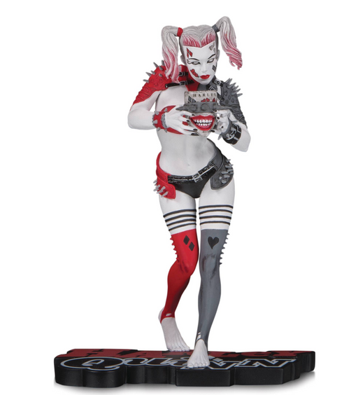 DC Collectibles Harley Quinn: Red, White & Black - Harley Quinn by Greg Horn Statue