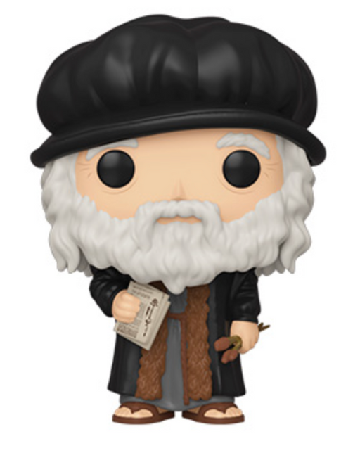 Funko Pop! Artists - Leonardo DaVinci