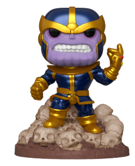"Funko Pop! Heroes: Marvel - 6"" Thanos (Infinity Gauntlet Snap)"
