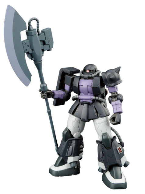 Bandai Tamashii Nations Gundam the Origin - #05 Zaku II Ortega Custom HG Model Kit