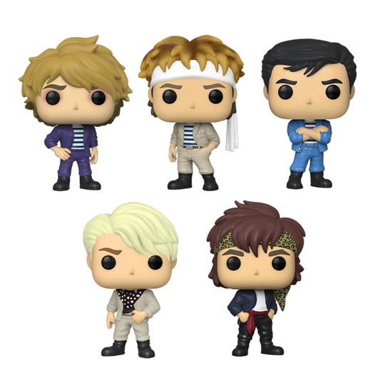 Funko Pop! Rocks: Duran Duran (Set of 5)