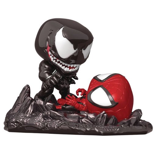 Funko Pop! Marvel: Comic Moments - Venom vs. Spider-Man