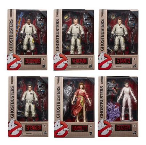 Hasbro Ghostbusters Plasma Series Wave 1 Collection (Terror Dog Build-A-Figure)