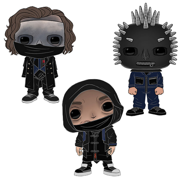 Funko Pop! Rocks: Slipknot (Set of 3)