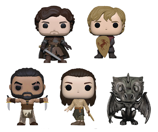 Funko Pop! Television : Game of Thrones S3 - Set Of 5