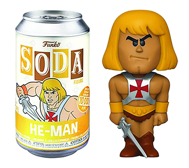 Funko Vinyl Soda: Masters of the Universe - He-Man