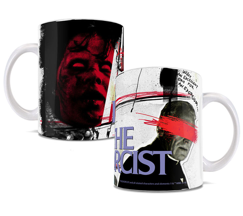 Trend Setters The Exorcist (I'm Not Reagan) 11-oz. White Ceramic Mug