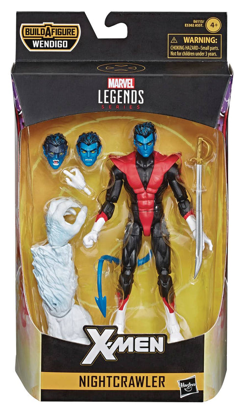 Hasbro Marvel Legends X-Force 6-inch Nightcrawler Action Figure