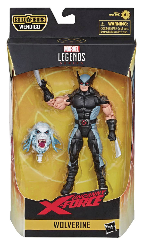 Hasbro Marvel Legends X-Force 6-inch Wolverine Action Figure