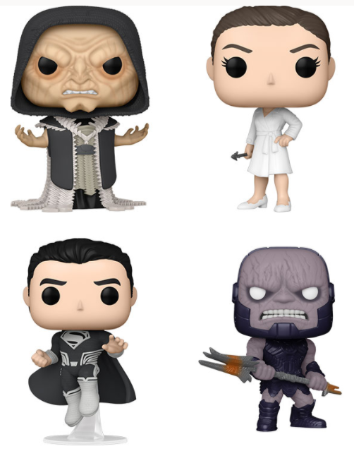 Funko Pop! Movies: Justice League Snyder Cut (Set of 4)