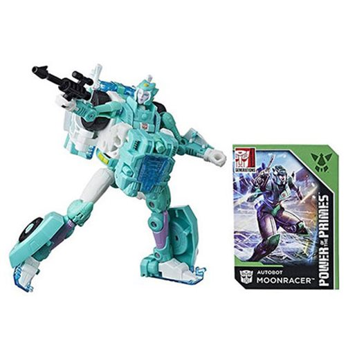 Transformers Generations: Power of the Primes - Deluxe Moonracer Action Figure