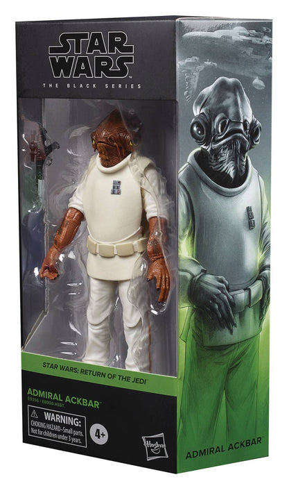 "Star Wars Black Series 6"" Admiral Ackbar (Episode VI)"
