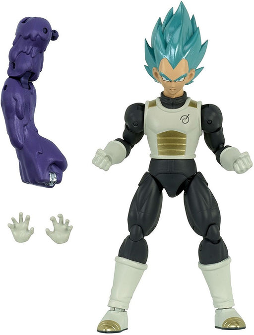 Bandai Dragon Ball Super: Dragon Stars Super Saiyan Blue Vegeta (Series 2) Action Figure